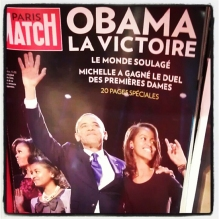 The US Presidential Election from Paris, France *November 2012*