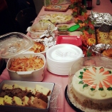My coworkers threw me a farewell party on my last day of work *September 2012*