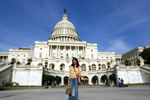 First visit to the US Capitol *May 2012*
