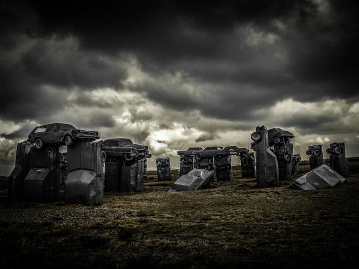 Forget Stonehenge…Behold Carhenge!