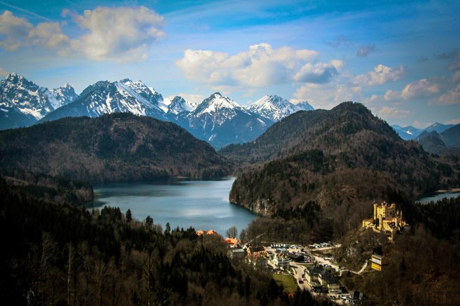 The Bayerische Alpen